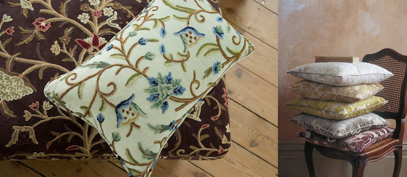 More cushion filling examples from Anthony Dykes Furniture